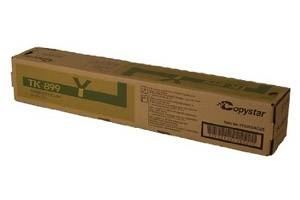 Copystar Kyocera TK-899Y [OEM] Genuine Yellow Toner Cartridge