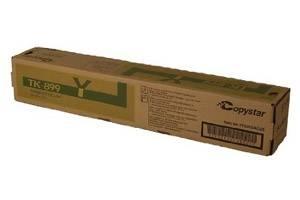 Copystar Kyocera TK-899Y [OEM] Genuine Yellow Toner Cartridge