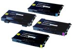 CLP-500 Black & Color Toner Set for Samsung CLP-500 CLP-550 Printer
