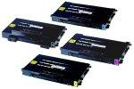 CLP-510 Remanufactured Black & Color Combo Set for Samsung CLP-510 CLP-510N Color Printer