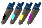 Okidata C3300 C3400 C3520 C3530 C3600 Compatible 4-Pack Black & Color Toner Set