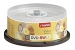 Imation 17346 4X 4.7GB DVD-RW 25PK Spindle