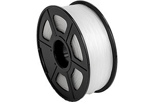 ABS Transparent White Filament 1.75mm 1kg Supply Spool for 3D Printer