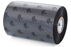 "Zebra TT Ribbon, Wax/ Resin (4.33"" x 244') (0.5"" Core) 12 Roll Case"