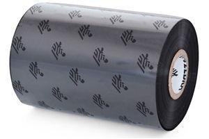 """Zebra TT Ribbon, Wax (4.33"""" x 244') 6 Roll Case"""